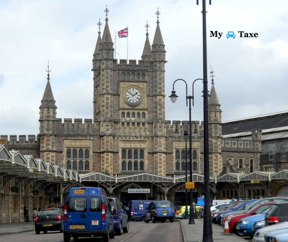 Lowest fare taxi and minicabs from Bristol Temple Meads Station in UK