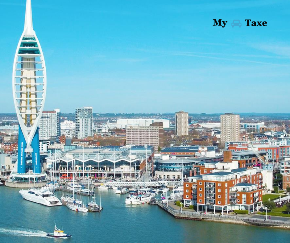 Lowest fare taxi and minicabs from Portsmouth to All Towns in UK