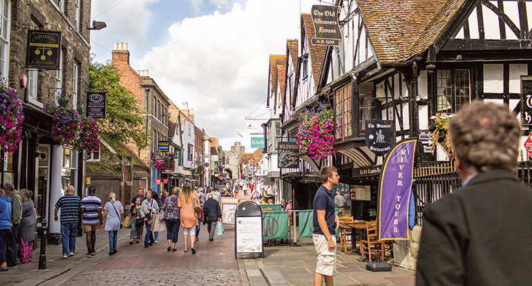 Lowest fare taxi and minicabs from Canterbury to All Towns in UK