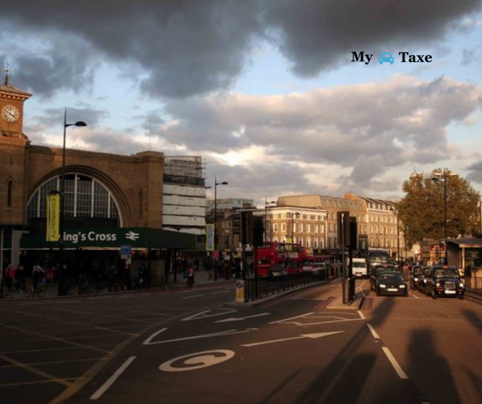 Lowest fare taxi and minicabs from Kingscross Station to Mayor Towns in UK