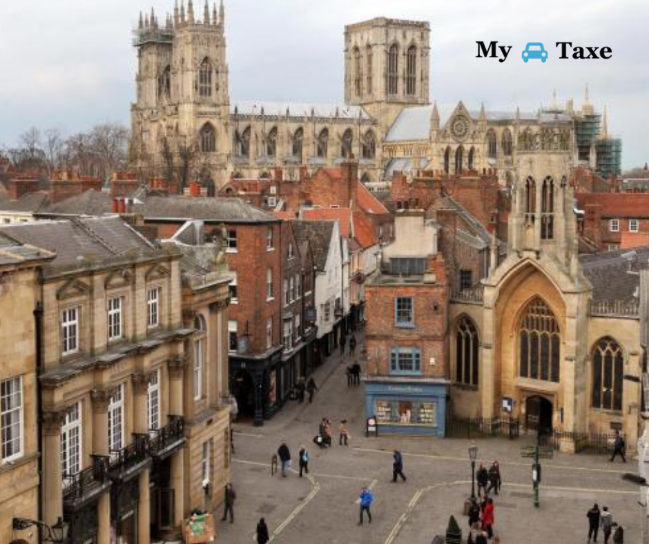 Lowest fare taxi and minicabs from York to All Towns in UK